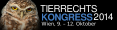 Banner Tierrechtskonbgress 2014